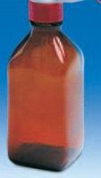 Бутыль темная для флакон-диспенсеров и цифровых бюреток, V-100 мл, GL 32 (VITLAB)