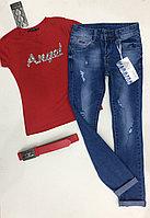 Подростковые джинсы DIESEL с ремнём