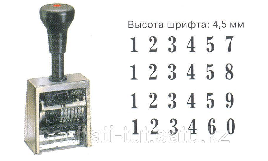 Автоматический нумератор REINER - фото 1