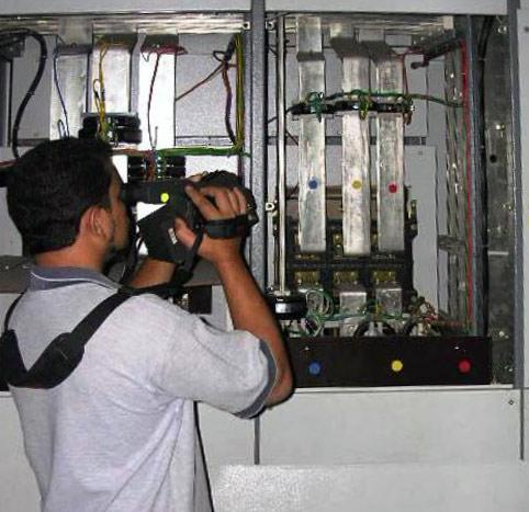Тепловизионное обследование электрооборудования