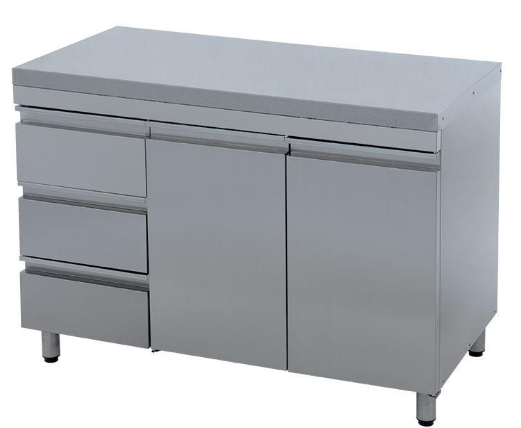 Стол производственный ATESY СТ-2/1200 с ящиками