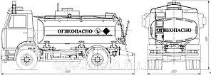 Автотопливозаправщик АТЗ-7
