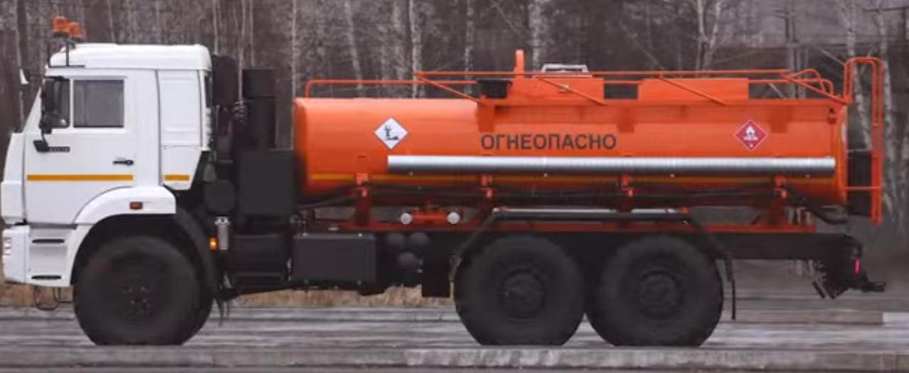 Топливозаправщик АТЗ-10 КАМАЗ-43118
