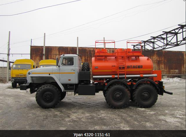 Топливозаправщик АТЗ-6,5-4320
