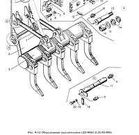 Оборудование рыхлительное ДЗ-98В1.3.25.03.000