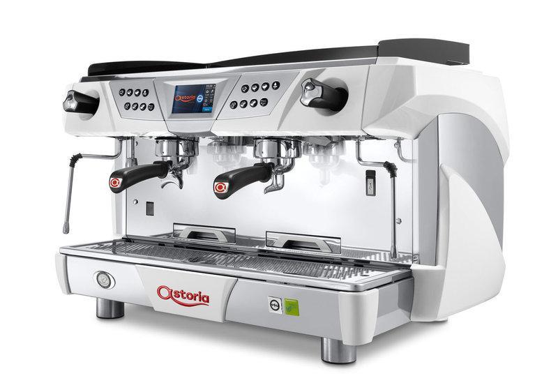 Кофемашина Astoria (C.M.A.) Core600 TS SAE/2 высокие группы, дисплей, белая