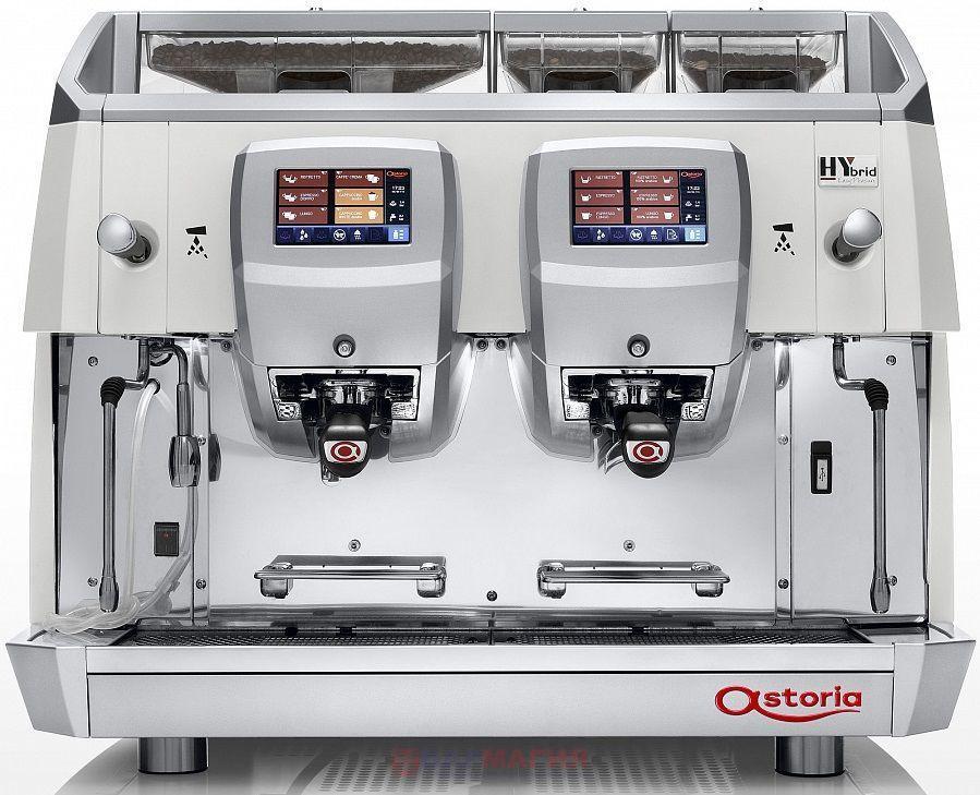 Кофемашина Astoria (C.M.A.) Hybrid HA3/2 белая
