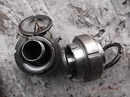 Ремкомплект шарнирного соединения поворота откидной секции битумного распределителя РКЗЧ-01 (гайки шар-конус,