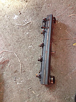 Левая секция битумного распределителя в сборе с форсунками и тягой РКЗЧ-04
