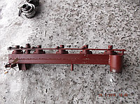 Правая секция битумного распределителя в сборе с форсунками и тягой РКЗЧ-05