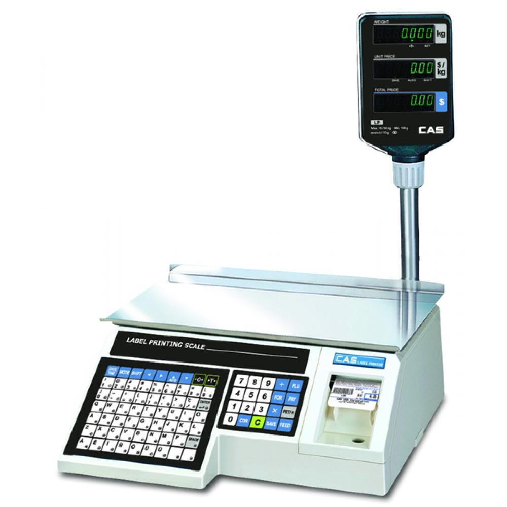 Весы торговые CAS LP-06R (v1.6) TCP-IP