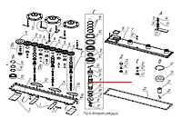 Вал ротор К-1.01.00.008