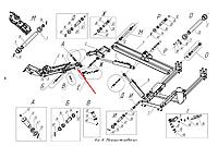 Гидроцилиндр УГЦ-50.10.00.000-01
