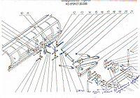 Плужное оборудование КО-815М.07.00.000