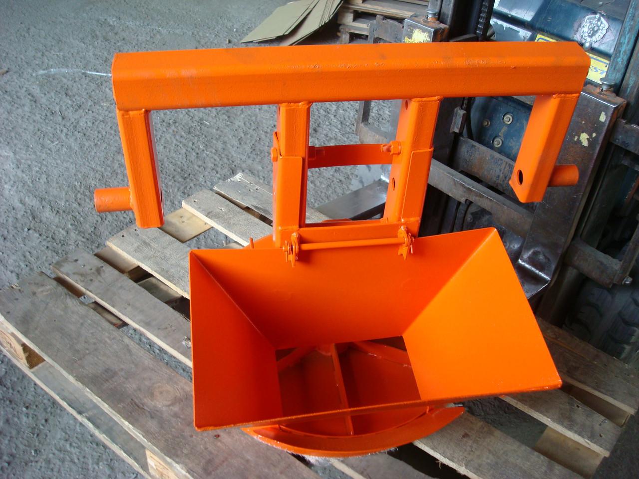Разбрасыватель в сборе (Ø500 мм) МД-433-02 04.20.000Б (крыльчатка с гидромотором MS-80, лотком, кожухом)