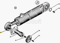 Гидроцилиндр заслонки ДС-143.01.17.800