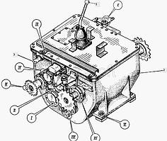 Коробка перемены передач ДС-143.01.03.000