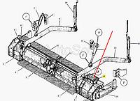 Привод бруса трамбующего ДС-143.02.04.000