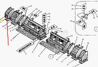 Каркас уширителя левый ДС-126А.34.01.310