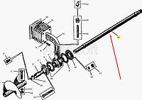Вал шнека ДС-143А.31.08.004