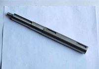 Вал шнековый на шпонке на бару ЭТЦ 165 ЭЦУ-150