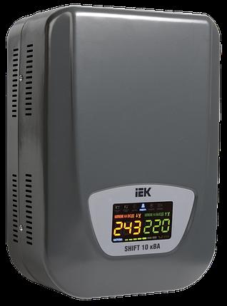 Стабилизатор напряжения настенный серии Shift 10кВА IEK, фото 2