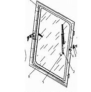 Стекло двери 533-0-62-81-786-1К