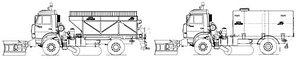 Машина дорожная комбинированная МД-53605