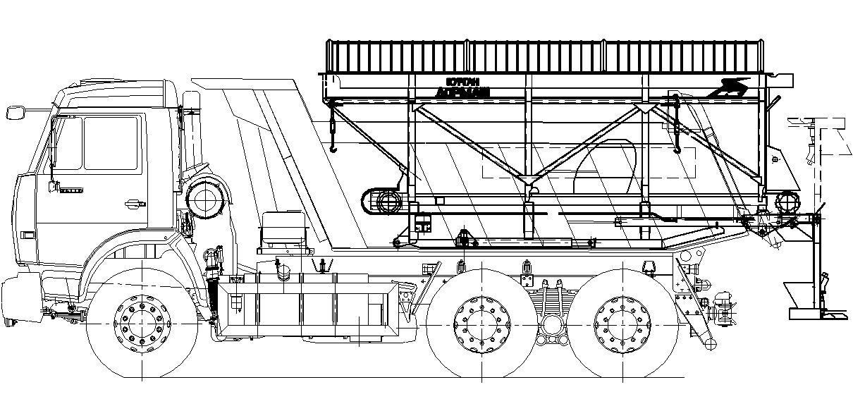 Машина дорожная комбинированная МД-651А