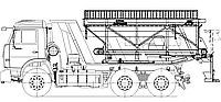 Машина дорожная комбинированная МД-651А, фото 1