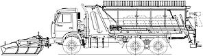 Машина дорожная комбинированная МД-651М