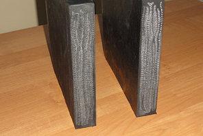 Техпластина 500х250х40 армированная металлокордом