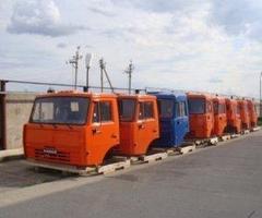 Кабина 6520 евро 2 высокая без спальника 6520-5000020