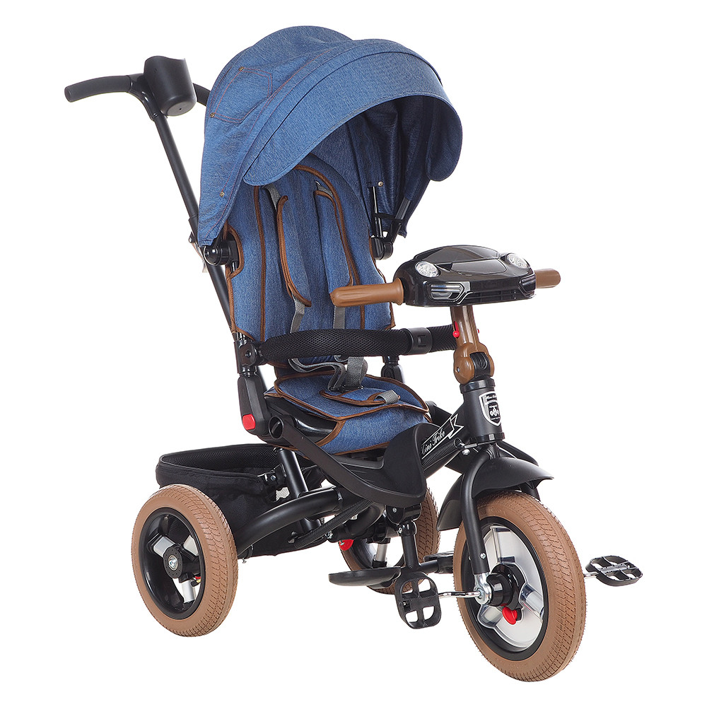 Велосипед Mars Trike MINI TRIKE ДЖИНС синий
