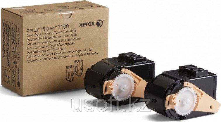 PC 7100 ТОНЕР-КАРТРИДЖ Cyan (9K) (106R02609)