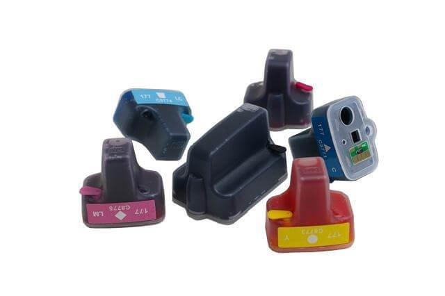Перезаправляемые картриджи для HP PhotoSmart D7183