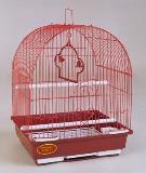 Клетка для мелких птиц, модель А100, 30х23х39см, крашенная