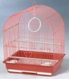 Клетка для мелких и средних птиц, модель 400, 35х28х46 см, крашенная