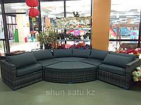 Комплект мебели из искусственного ротанга транформер (6 частей) АСТИЛЬБА Подробнее