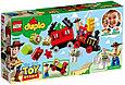 10894 Lego Duplo Поезд «История игрушек», Лего Дупло, фото 2