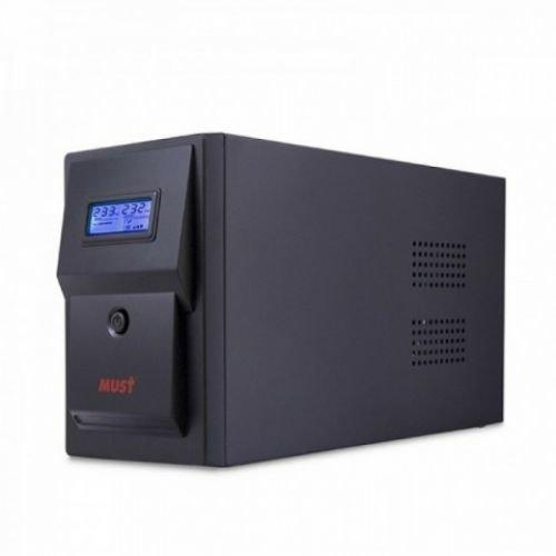 Линейно-интерактивная ИБП/UPS CW 2110 MUST 1500VA LCD USB RJ45 battery: 12V9AH*2 SCHUKO output
