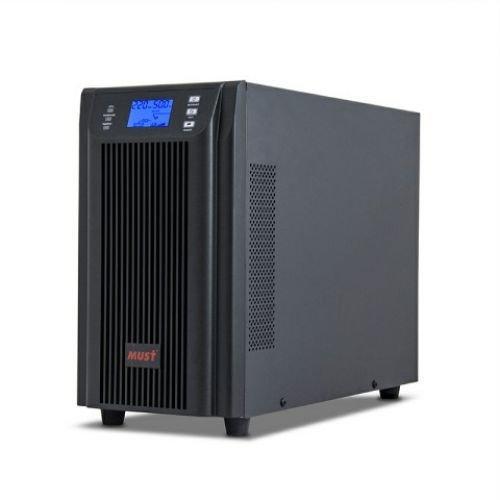 EH 5002 MUST on-line UPS 2000VA LCD RS232 RJ45 battery: 12V7AH*8