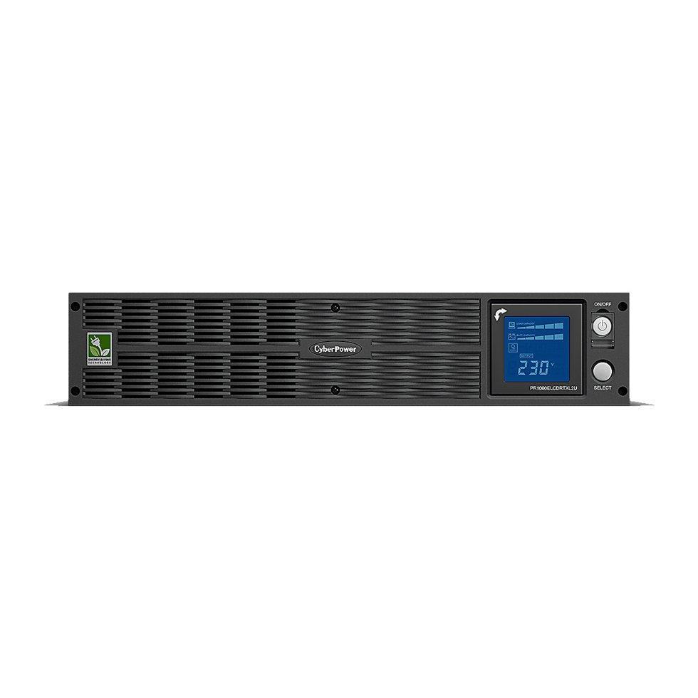 ИБП (UPS) CyberPower PR1000ELCDRTXL2U выходная мощность 1000VA/750W