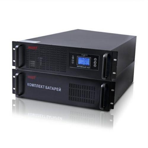 ИБП (UPS) MUST EH 5110 19 LCD, 10000VA