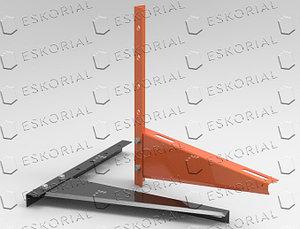 Кронштейн для кондиционера консольный, сталь 2мм 520
