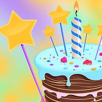 Свечи, украшения для торта