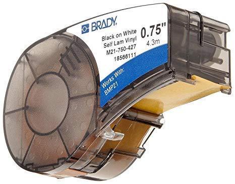 Картридж к принтеру BRADY BMP21  самоламинирующаяся  этикетка Brady B-427 для маркировки провода, фото 2