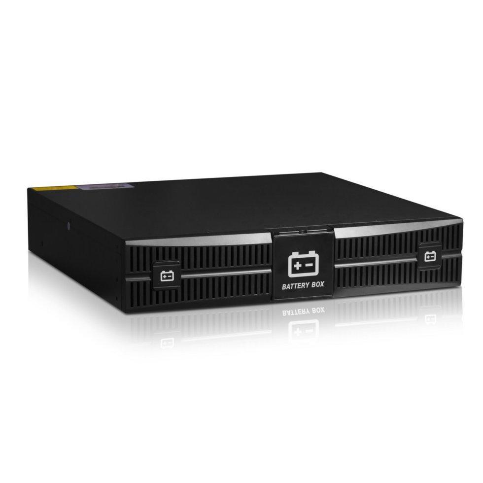 """Батарейный блок, SVC, для RT-1KL-LCD, Стоечный 19"""" 2U, 12В/7Ah*6шт., Чёрный"""