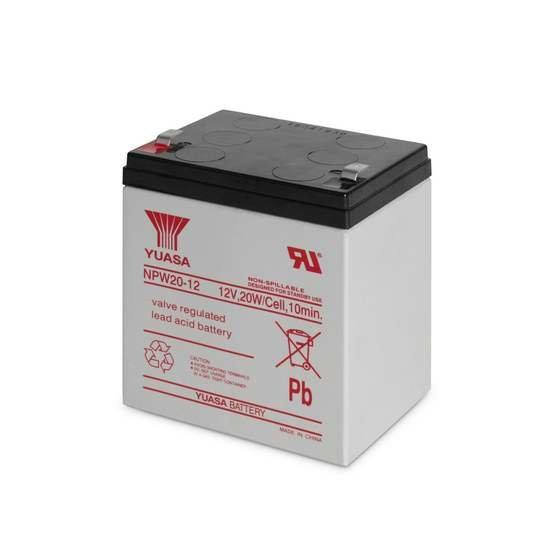 Батарея, Yuasa, NPW 20-12, 12В*4.5 Ач, Размер в мм.: 90*70*102