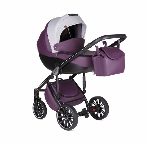 Детская коляска 3 в 1 Anex Sport Discovery Q1(SE02) Lavender Field